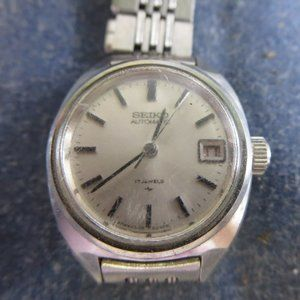 Vintage Seiko Ladies Automatic 2205 0050 Watch